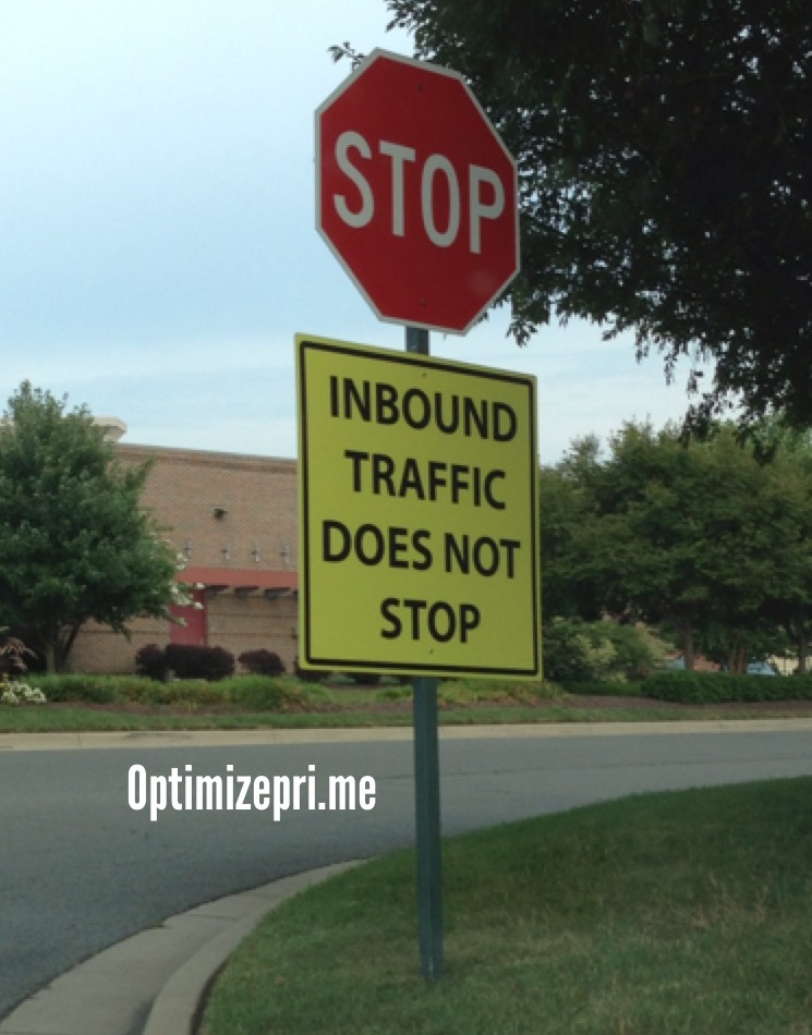 Inbound traffic does not stop