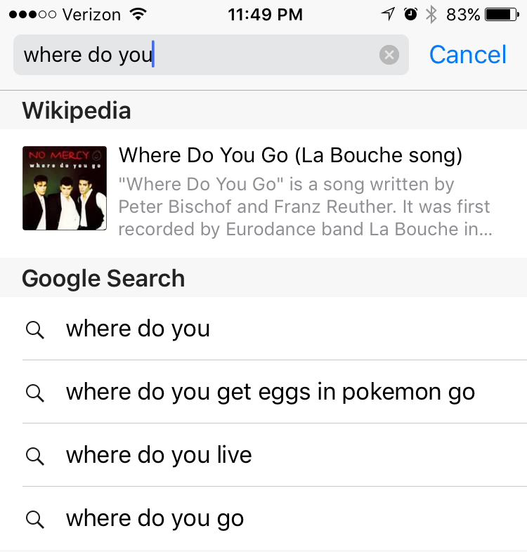pokemon go - where do you