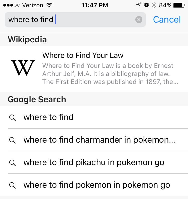 pokemon go - where to find